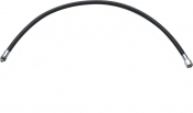 "NEW! 96"" Double Braided Low Pressure Hose BLACK - Product Image"