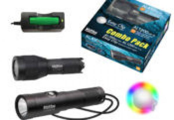 Bigblue AL1200NP-II & AL450WM Tail & EZ Clip Light Combo Pack - Product Image