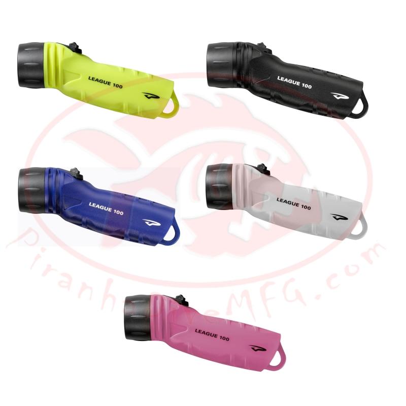 """Special! Princeton Tec League 100 L.E.D. Light 260 Lumens """"1 Pink Body Left!"""" - Product Image"""
