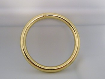 "2 1/2"" Inch Brass Ring - Product Image"