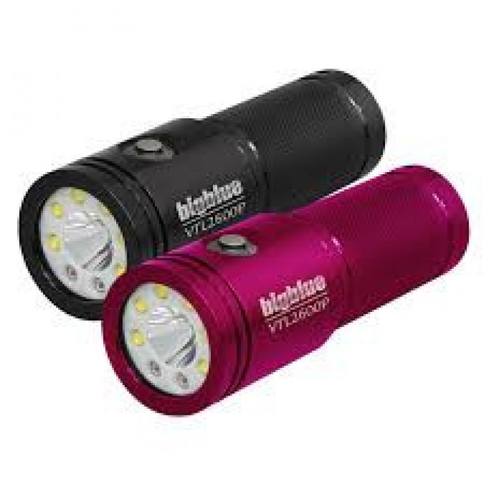 "2600 Lumen Narrow-Beam Tech Light ""Pink Body Light Only!"" - Product Image"