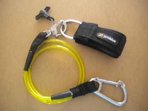 "Ankle / Wrist Jon - Buddy Line w/ Quick Release Shackle w Barrel Sliding Locks ""2 Left!"" - Product Image"