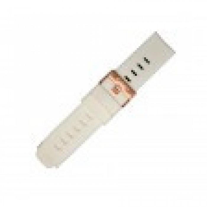 "Atmos Mission One 24mm Band Set ""White / Rose Gold Band Set* - Product Image"