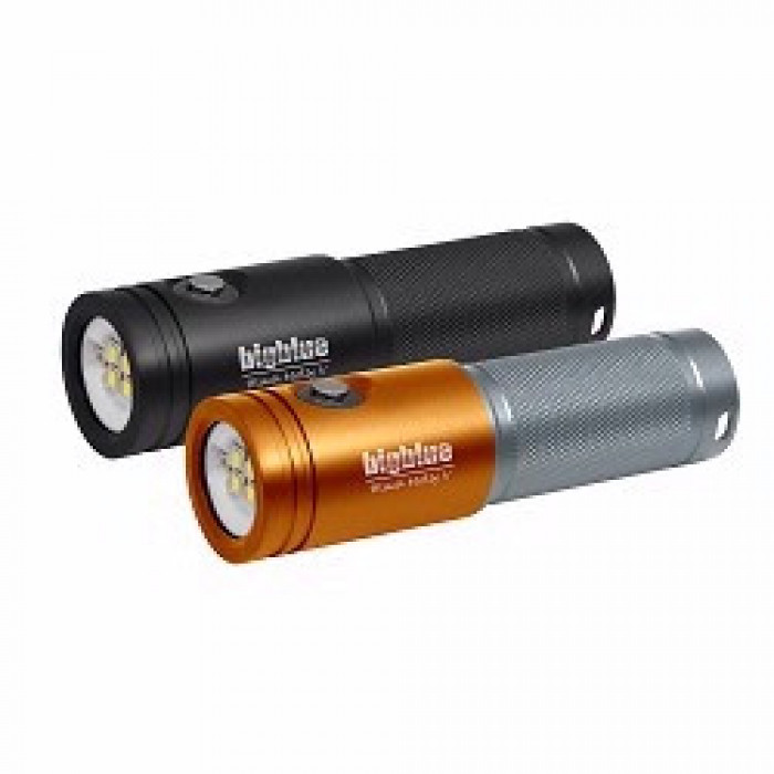 """Big Blue Extra Wide Video Led Light 2600 Lumens  """"Orange / Silver Body Light Only!"""" - Product Image"""
