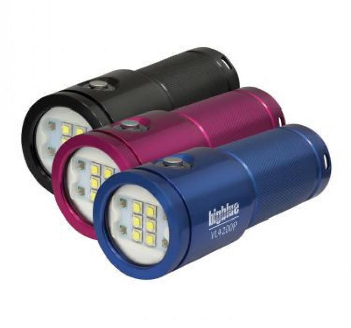 "Big Blue VL4200P LED Underwater Video Light ""Black Body"" - Product Image"