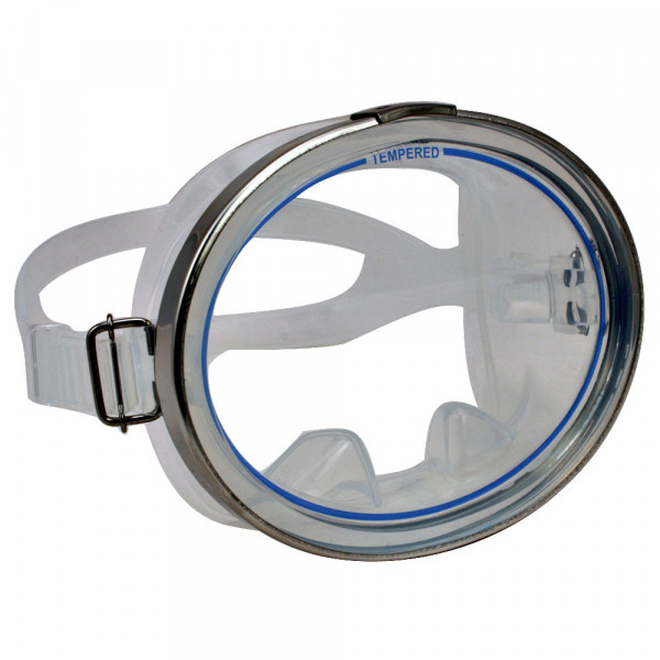 """Classic Oval Mask """"Clear"""" - Product Image"""