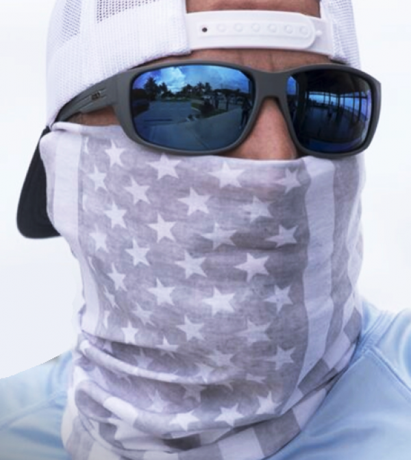 """Full Face Shield """" American Design"""" - Product Image"""