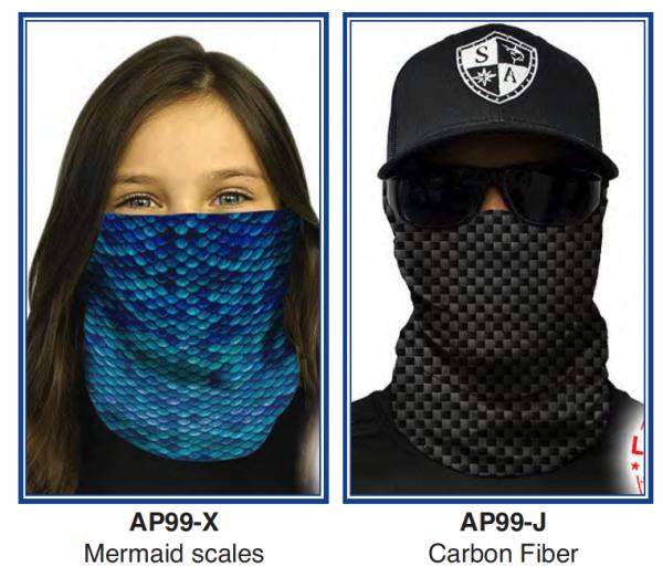 "Full Face Shield "" Black Carbon Fiber Design""  - Product Image"
