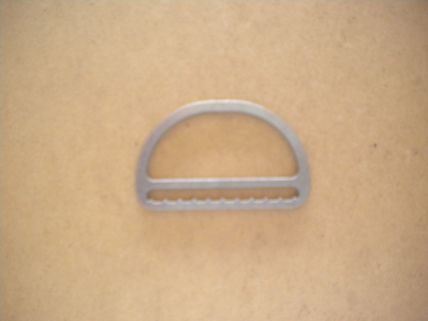 "Low Profile Slide Locking D-Ring ""Straight Design"" - Product Image"