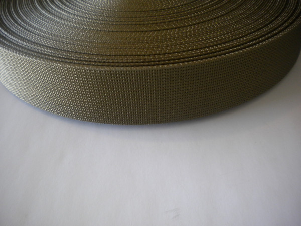 "2"" Inch Nylon Webbing  Coyote Brown ""Stiff Webbing Version"" - Product Image"