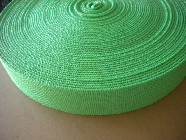 "2 Inch Nylon Webbing  Nitrox Green ""Standard version"" - Product Image"
