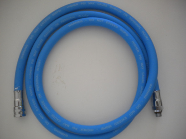 """84"""" LP PVC Rubber Hose BLUE - Product Image"""