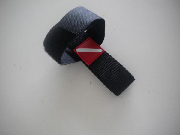 """New Item! Mask / Hose Keeper """"Black Webbing"""" - Product Image"""