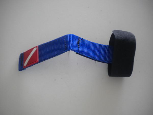 """New Item! Mask / Hose Keeper """"Blue Webbing"""" - Product Image"""