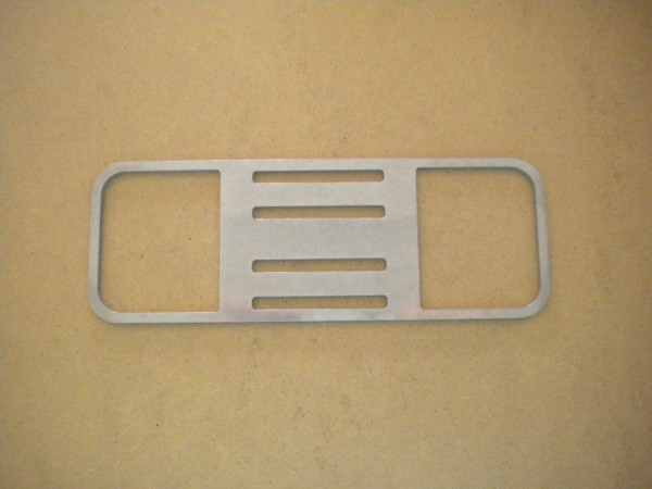 "Rear Mounting Bracket ""Straight Version"" - Product Image"