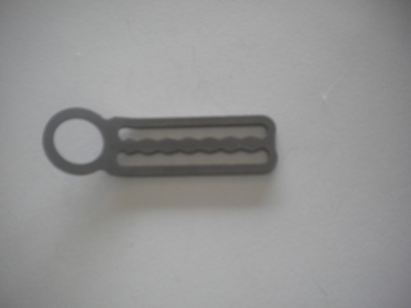 "Single End Loop w/ Teeth ""Bent / Angled Design""  - Product Image"
