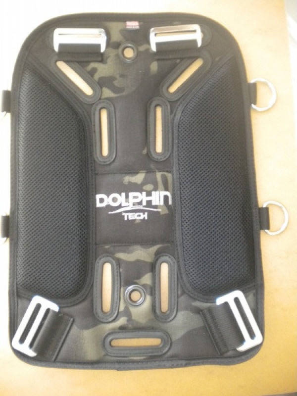 """New! Ultralight DELUXE Soft Travel Backplate Pad """"Large Model"""" """"Generation 2 Model"""" - Product Image"""