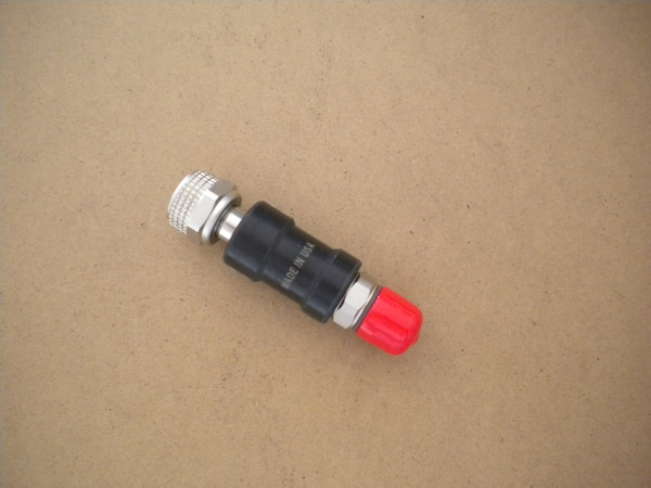 "OmniSwivel SHUT-OFF VALVE: STREAMLINE 7/8"" Long Body - Product Image"