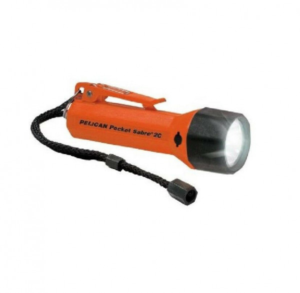 "Special Sale! Pelican 1820 Pocket Sabre(TM) Submersible Flashlight ""Orange Body"" - Product Image"