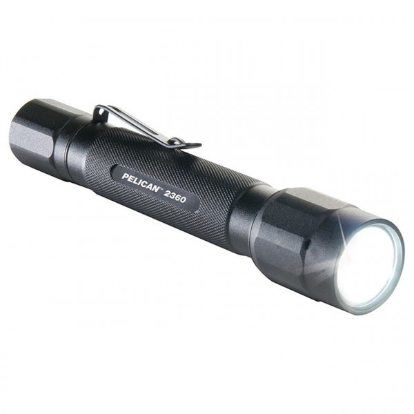 "Special Sale! Pelican LED Flashlight Non-Diving!, With 2 AA Batteries included, 3 modes:  ""Black Body""  - Product Image"