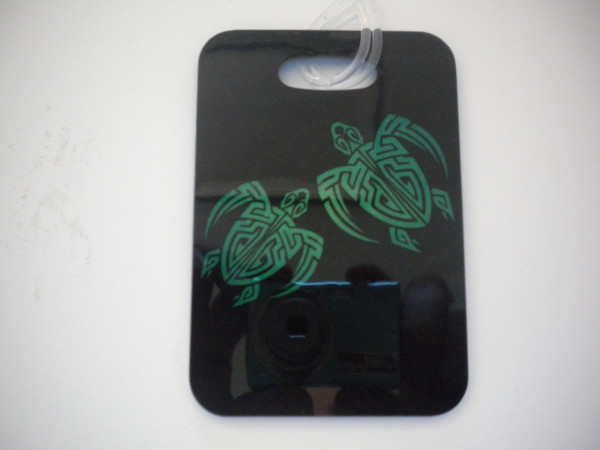"Turtle Luggage Tag   ""One Tag Price"" - Product Image"