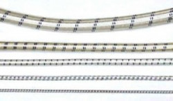 White w/Black Stripe Bungee Cord